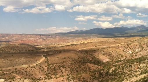 This is some of the land proposed for lease just south of Moab. Photo courtesy of Kiley Miller.